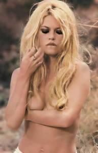 Bardot young half naked lip hair