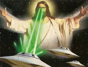 jesus spaceships